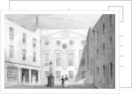 Apothecaries' Hall, Pilgrim St., Blackfriars by Thomas Hosmer Shepherd