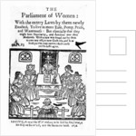 Title Page for 'The Parliament of Women' by English School