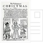 The Vindication of Christmas by English School