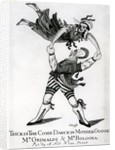 Trick in the Comic Dance in Mother Goose - Mr Grimaldi & Mr Bologna, print made by O'Keeffe by English School