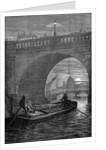 Waterloo Bridge by Night by English School
