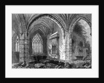 Abbey of Holy Cross by William Henry Bartlett
