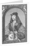 King James IV of Scotland by English School