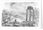 View of the Roman Forum by Giovanni Battista Piranesi