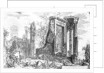 The Temple of Sibyl, Tivoli by Giovanni Battista Piranesi