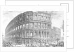 View of the Colosseum by Giovanni Battista Piranesi