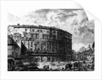 View of the Theatre of Marcellus by Giovanni Battista Piranesi