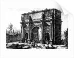 A View of the Arch of Constantine by Giovanni Battista Piranesi