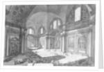 View of the interior of Santa Maria degli Angeli e dei Martiri by Giovanni Battista Piranesi