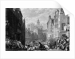 Heriot's Hospital, Edinburgh, engraved by Henry Le Keux by Joseph Mallord William Turner