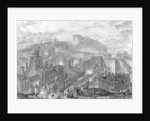 Edinburgh from the Calton Hill by Joseph Mallord William Turner