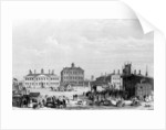 Old Liverpool Infirmary and Alms-Houses, with John Cooke's circus in the foreground by William Gavin Herdman