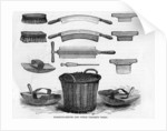 Fleshing Knives and other Tanner's Tools by English School