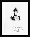 Lady Violet Greville by English Photographer