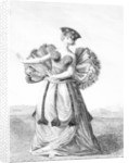 Habit of a Young Woman of Otaheite Dancing by John Webber