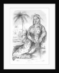Queen Pomare IV of Tahiti by French School