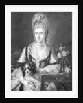 Polly Kennedy, engraved by Valentine Green by Edward Francis Cunningham
