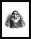 Pot-de-Naz, caricature from 'Le Charivari', May 2 by Honore Daumier