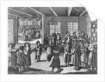 Illustration taken from the Jüdisches Ceremonial, oder Beschreibung dererjenigen Gebrduche by German School