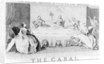 Cabal: The Picturesque Appearance of a Very, Very Grave Statesman by English School