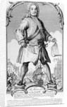 The Statue of a Great Man or the English Colossus by English School