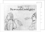 The Newcastle Cockfighter by English School