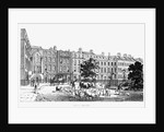 South West Corner of Soho Square by English School