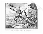 The Lamentations of Louis by English School