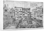 The King's Bath and the Queen's Bath by English School
