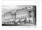 Part of the east side of Regent Street, London by Thomas Hosmer Shepherd