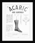 "Acaric"" Sock Suspender by English School"