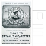 Player's Navy Cut Cigarettes by English School