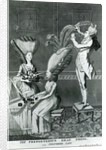 The Preposterous Head Dress, or the Featherd Lady by Matthew or Matthias Darly