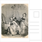 The Boudoir of a Parisian Lady in the Last Century by English School