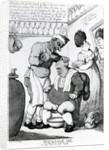 Massacar Oil, an oily puff for soft heads by Thomas Rowlandson