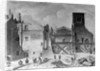 Demolition of the Savoy Palace, Westminster, London by English School