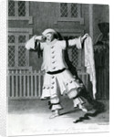 Mr Delphini in the character of Pierot in Aladdin by William Hincks