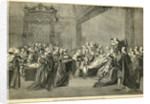 Fatal Seizure of the Earl of Chatham in the House of Lords by English School