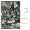 Destruction of the Spanish Armada by English School