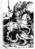 St. George and the Dragon by Albrecht Dürer or Duerer