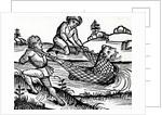 Illustration taken from the Nuremburg Chronicle by German School