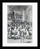"""The Coffeehouse Mob, by Edward Ward, taken from """"Vulgus Britannicus"""" by English School"""