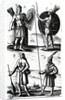 Illustrations of Algonquin dress by Samuel de Champlain