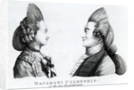 Macaroni Courtship, or the two Insignificants by English School
