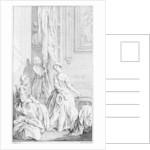 Illustration for 'Pamela', by Samuel Richardson by Hubert Francois Gravelot