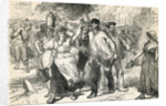 Insurgents Ravaging The Streets of Paris, taken from Cassell's Illustrated History by English School