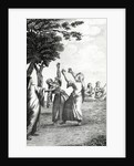 Dancing Girls in Egypt, taken from 'Niebuhr's Travels through Arabia and other countries in the East' by Danish School
