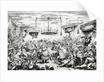 Sailors carousing, or a peep in the Long Room by George Cruikshank