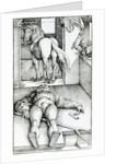 Sleeping Groom and Sorceress by Hans Baldung Grien