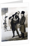 Robert Macaire Agent d'Affaires by Honore Daumier